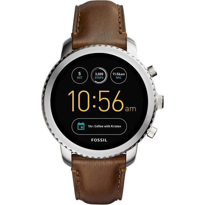 72bb09e0f819 Reloj Fossil Q Hombre Explorist FTW4003 Smartwatch - Crivelli Shopping