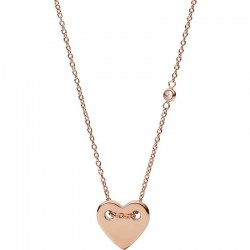 Comprar Collar Mujer Fossil Classics JF02868791 Corazón