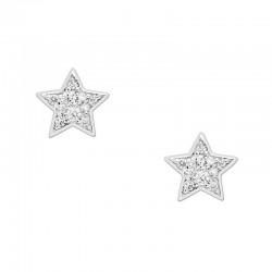 Comprar Pendientes Mujer Fossil Sterling Silver JFS00152040 Estrella