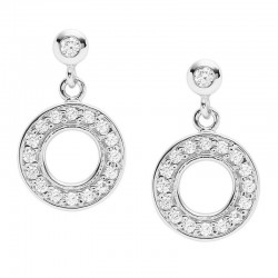 Pendientes Mujer Fossil Sterling Silver JFS00473040