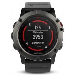 Reloj Hombre Garmin Fēnix 5X Sapphire 010-01733-01 GPS Smartwatch Multisport