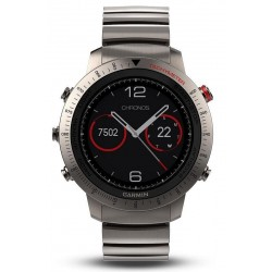 Reloj Hombre Garmin Fēnix Sapphire Chronos 010-01957-01 GPS Smartwatch Multisport