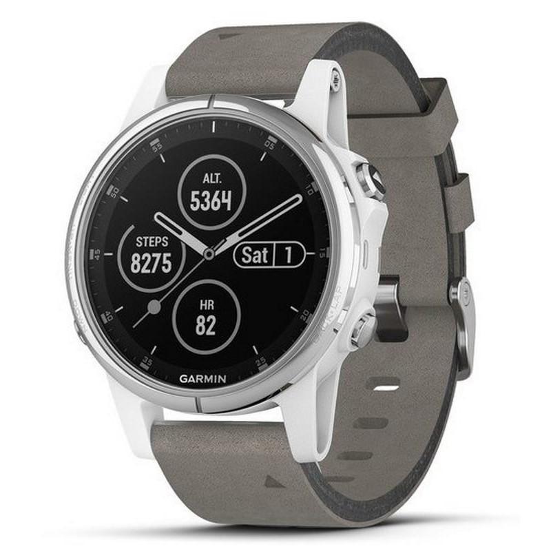 654485ab1291 Reloj Hombre Garmin Fēnix 5S Plus Sapphire 010-01987-05 GPS Smartwatch  Multisport