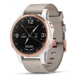 Reloj Hombre Garmin D2 Delta S Sapphire Aviator 010-01987-31 Aviation GPS Smartwatch