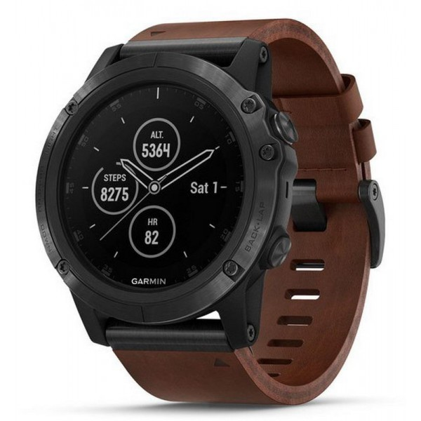 Comprar Reloj Hombre Garmin Fēnix 5X Plus Sapphire 010-01989-03 GPS Smartwatch Multisport