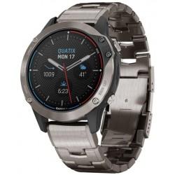 Reloj Hombre Garmin Quatix 6 Sapphire 010-02158-95 GPS Marine Smartwatch Multisport