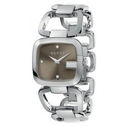 Comprar Reloj Mujer Gucci G-Gucci Medium YA125401 Diamantes Quartz