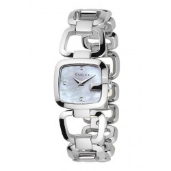Reloj Mujer Gucci G-Gucci Small YA125502 Diamantes Madreperla Quartz
