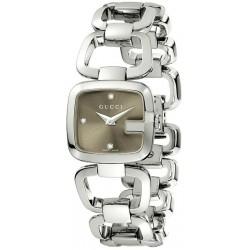 Reloj Mujer Gucci G-Gucci Small YA125503 Diamantes Quartz 5a3c3d49fb3