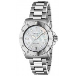 Comprar Reloj Mujer Gucci Dive Medium YA136405 Diamantes Madreperla Quartz