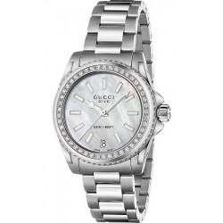 Comprar Reloj Mujer Gucci Dive Medium YA136406 Diamantes Madreperla Quartz
