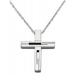 Comprar Collar Hombre Gucci Silver YBB22836400100U Cruz