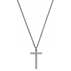 Comprar Collar Hombre Gucci Silver YBB31048400100U Cruz