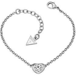 Comprar Pulsera Mujer Guess Crystals of Love UBB51413 Corazón