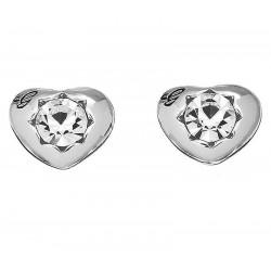 Comprar Pendientes Mujer Guess Crystals Of Love UBE51415 Corazón