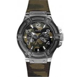 Comprar Reloj Guess Hombre Rigor W0407G1 Camuflaje Multifunción