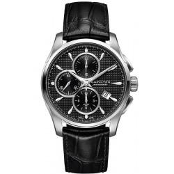 Comprar Reloj Hombre Hamilton Jazzmaster Auto Chrono H32596731