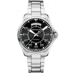 Reloj Hombre Hamilton Khaki Aviation Pilot Day Date Auto H64615135