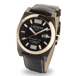 Reloj Hombre Locman Stealth Automático 0205GRBKF5N0PSK