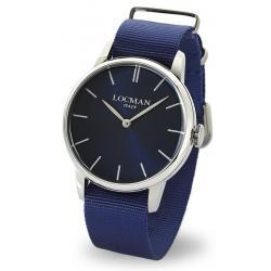 Comprar Reloj Hombre Locman 1960 Quartz 0251V02-00BLNKNB