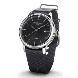 Comprar Reloj Hombre Locman 1960 Automático 0255A01A-00BKNKNK