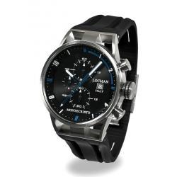 Comprar Reloj Hombre Locman Montecristo Cronógrafo Quartz 051000BKFBL0GOK