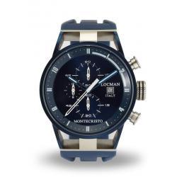 Comprar Reloj Hombre Locman Montecristo Cronógrafo Quartz 0510BLBLFWH0SIB