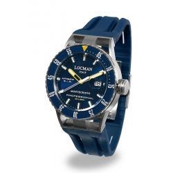 Reloj Hombre Locman Montecristo Professional Diver Automático 051300BYBLNKSIB