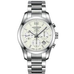 Comprar Reloj Hombre Longines Conquest Classic L27864766 Cronógrafo Automático