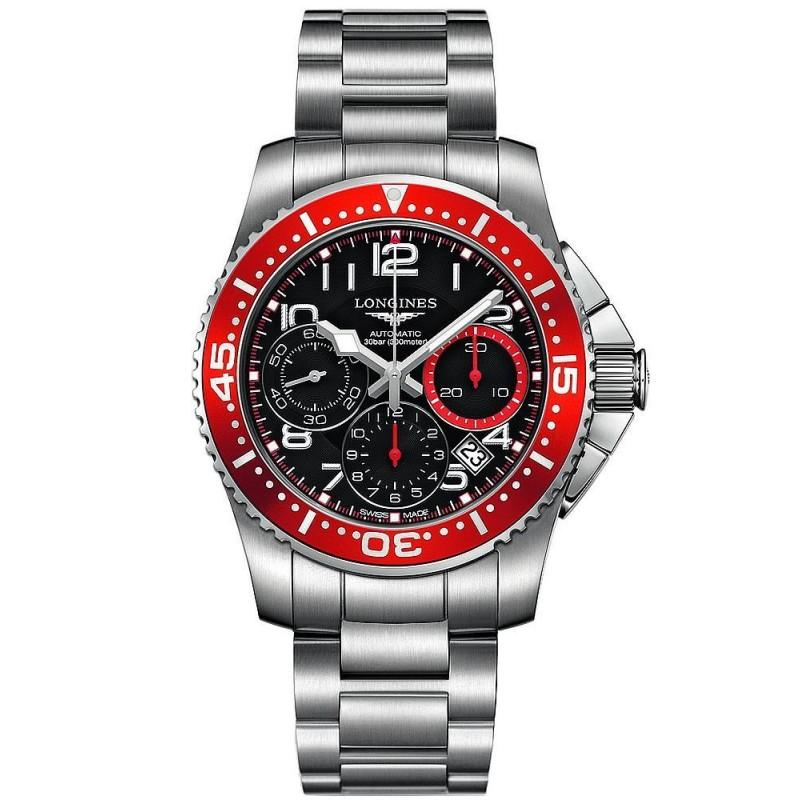 0405dd572e6a Reloj Hombre Longines Hydroconquest L36964596 Cronógrafo Automático ...