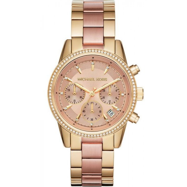 Comprar Reloj Mujer Michael Kors Ritz MK6475 Cronógrafo