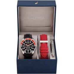 Reloj Hombre Nautica NST 07 Box Set A14670G Multifunción