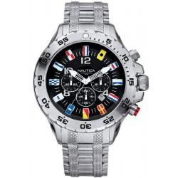 Comprar Reloj Hombre Nautica NST Flag A29512G Cronógrafo