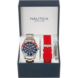 Reloj Hombre Nautica NST 07 Box Set NAI16500G Multifunción