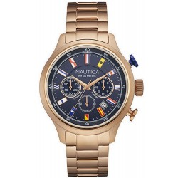 Reloj Hombre Nautica NCT Flag NAI21507G Cronógrafo