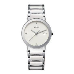 Comprar Reloj Rado Mujer Centrix Diamonds S Quartz R30928722 Cerámica Diamantes