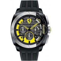 Comprar Reloj Hombre Scuderia Ferrari Aerodinamico Chrono 0830206