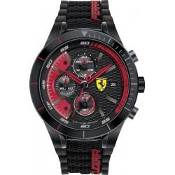 Reloj Hombre Scuderia Ferrari Red Rev Evo Chrono 0830260