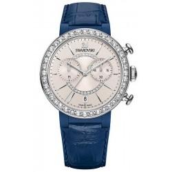 Comprar Reloj Swarovski Mujer Citra Sphere Chrono Blue Gray 5210208