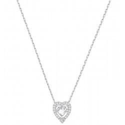 Collar Mujer Swarovski Sparkling Dance Heart 5272365