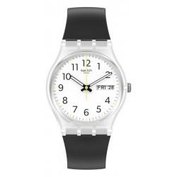 Reloj Unisex Swatch Gent Rinse Repeat Black GE726