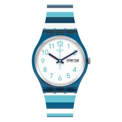 Reloj Unisex Swatch Gent Striped Waves GN728