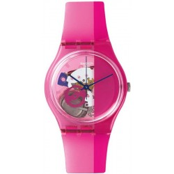 Reloj Unisex Swatch Gent Pinkorama GP145