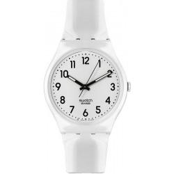 Reloj Unisex Swatch Gent Just White GW151