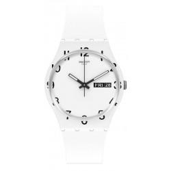Reloj Unisex Swatch Gent Over White GW716