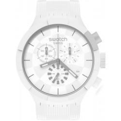Reloj Swatch Big Bold Chrono Chequered White SB02W400