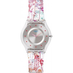 Comprar Reloj Mujer Swatch Skin Classic Jardin Fleuri SFE102