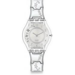 Comprar Reloj Mujer Swatch Skin Classic Climber Flowery SFK300G