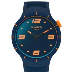 Reloj Swatch Big Bold Futuristic Blue SO27N110