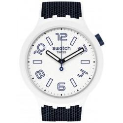 Reloj Swatch Big Bold Deep Snow SO27W102
